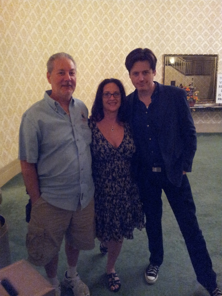 John Fuglesang with Nicole and David