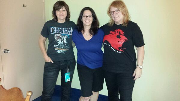 The Indigo Girls with Nicole Sandler at Ft Lauderdale Live 2014