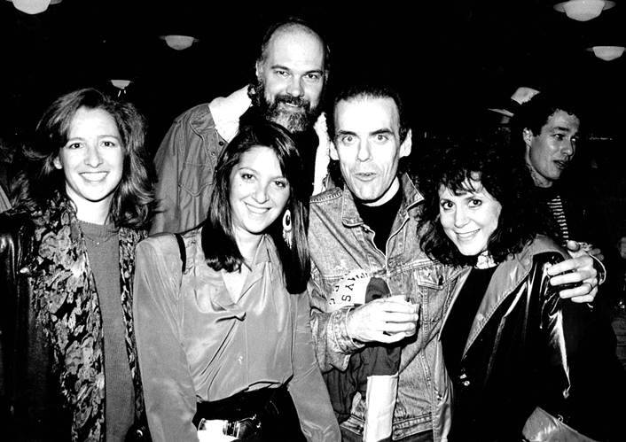 John Hiatt with Nicole Sandler, Sue DeBenedette, Rick Shaw & Denise Westwood