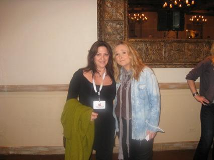 Melissa Etheridge with Nicole Sandler