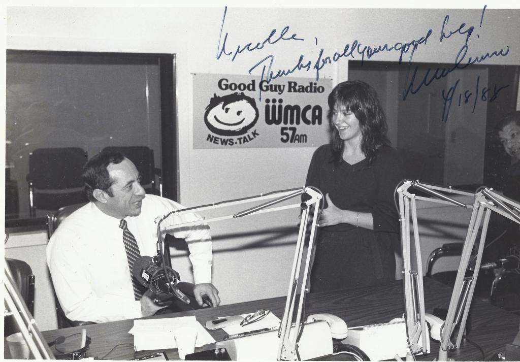 NY Governor Mario Cuomo