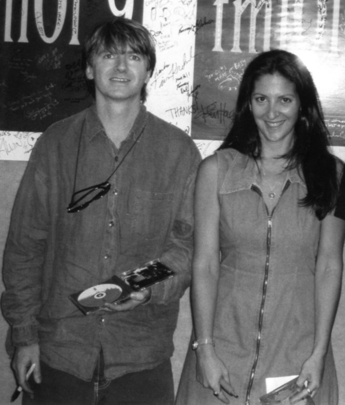 Neil Finn (Crowded House) with Nicole Sandler