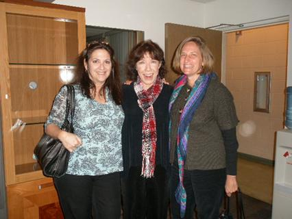 Nicole with Lily Tomlin and Eva Schwall