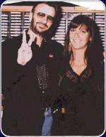 Ringo Starr with Nicole Sandler