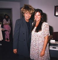 Tina Turner with Nicole Sandler - KLOS