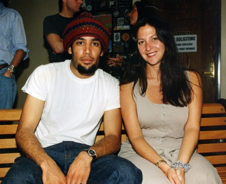 Ben Harper with Nicole at The Album Network 1997