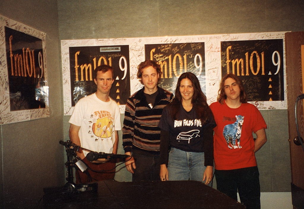 Ben Folds Five in the fm 101.9 Music Hall 1995