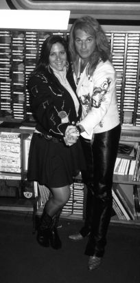 David Lee Roth with Nicole Sandler - KLOS