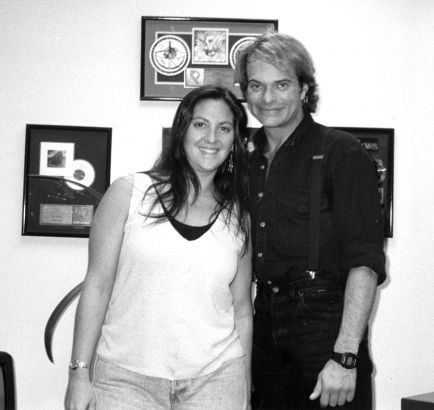 David Lee Roth with Nicole - KLOS