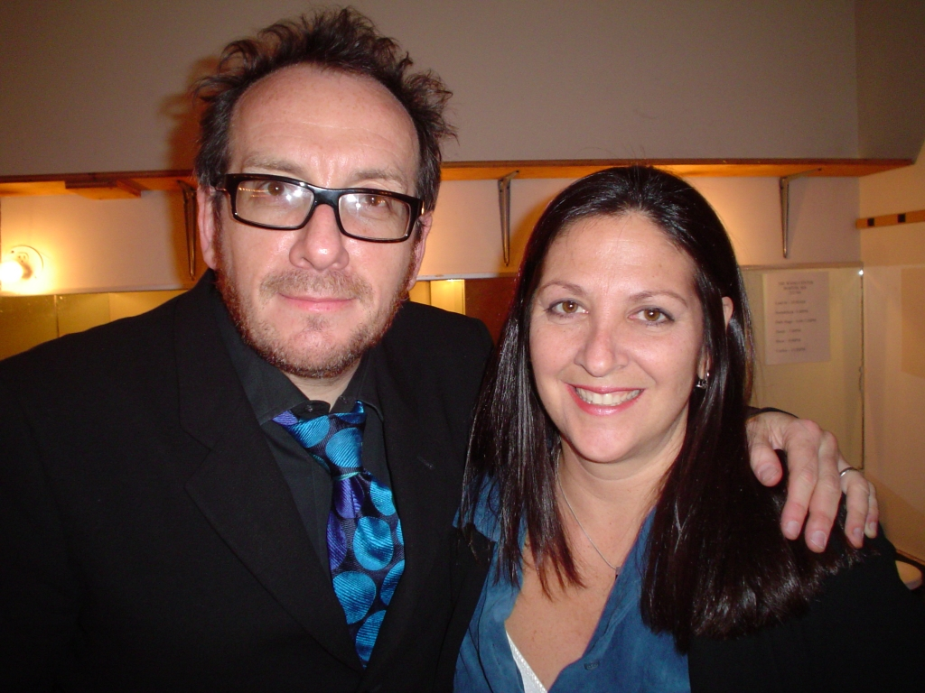 Elvis Costello with Nicole Sandler