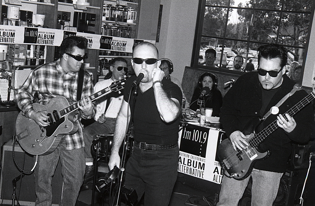 The Fabulous Thunderbirds - KSCA Starbucks Morning Show remote