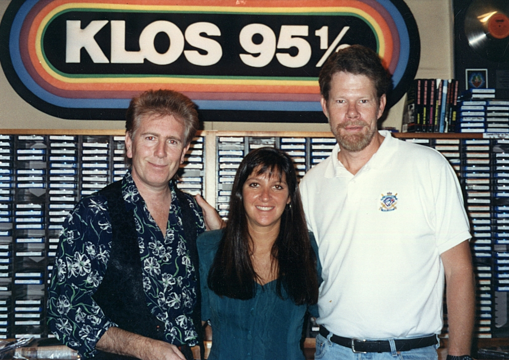 Graham Nash with Nicole Sandler & Bob Coburn KLOS 1992