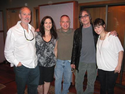 Jackson Browne, Nicole Sandler, David Sloane, Amy Kuney, Peter Barker