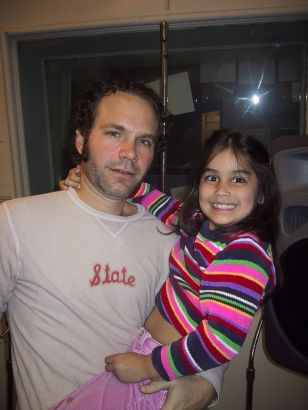 Five for Fighting's John Ondrasik with Alison Sandler at 92.5 The River- WXRV/Boston 2003