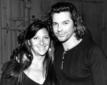 Michael Hutchence (INXS) with Nicole Sandler