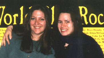 Natalie Merchant with Nicole Sandler