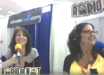 Laffy & Nicole broadcasting live from Netroots Nation 2013 in San Jose