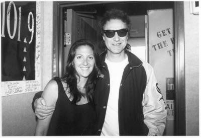Ray Davies (The Kinks) with Nicole Sandler
