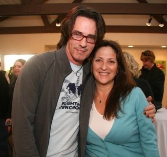 Rick Springfield with Nicole at Sunset Sessions