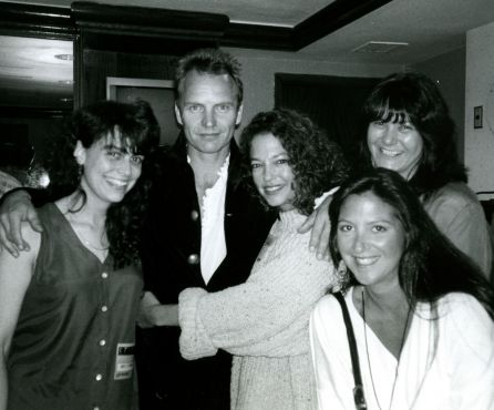 Sting with Nicole Sandler