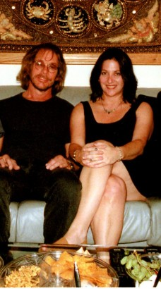 Warren Zevon with Nicole Sandler