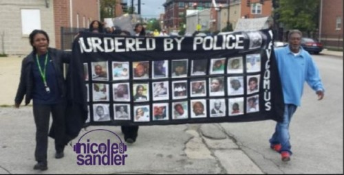 murdered by police