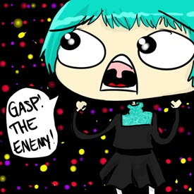 gasp the enemy