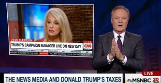 kellyanne conway lawrence trump taxes
