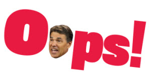 oops rick perry smaller