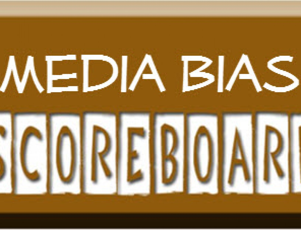 Media Bias Sunday Talk scoreboard! GOP 6, Dems 4 #LibrulMediaMyAss