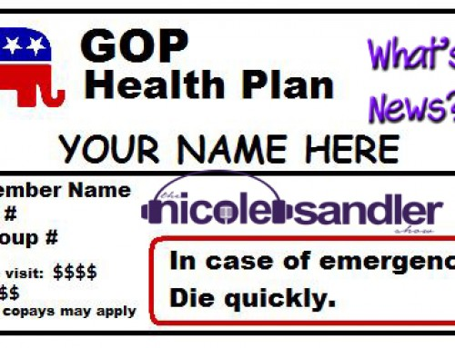 3-14-17 What's News? – The GOP Health Care Plan Edition