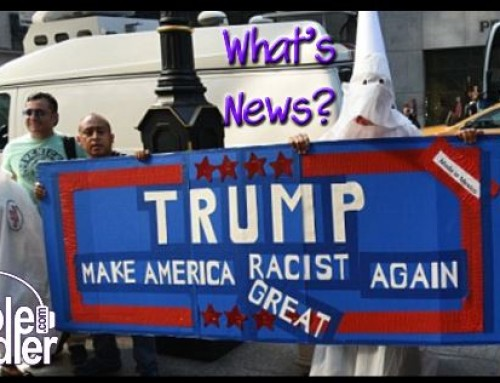 8-16-17 What's News – The Trump Goes Full White Supremacist Edition