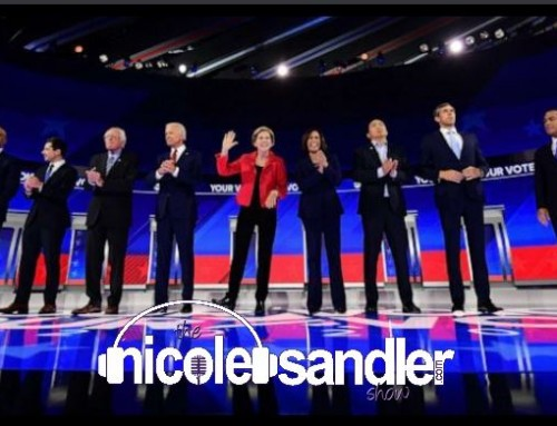 9-13-19 Nicole Sandler Show – About Last Night -Debate #3