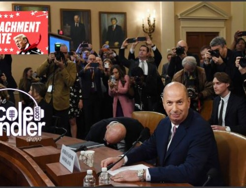 11-20-19 Nicole Sandler Show – Sondland Speaks! Impeachment Inquiry Hearings- Day Four