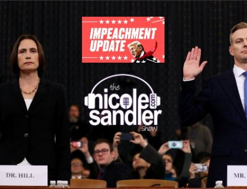 11-21-19 Nicole Sandler Show- Hill & Holmes! Impeachment Inquiry Day Five
