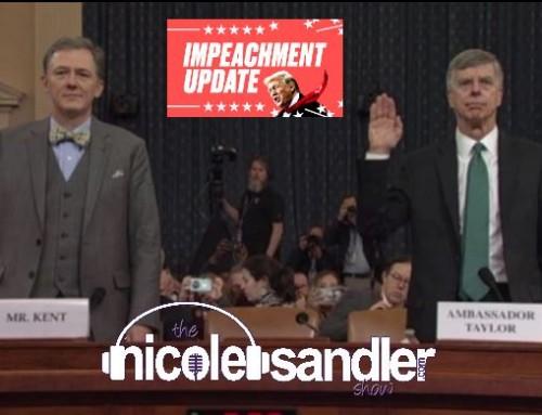 11-13-19 Nicole Sandler Show – Impeachment Hearings R Us