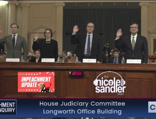 12-4-19 Nicole Sandler Show – Impeachment Moves to Judiciary, David Bender Weighs In