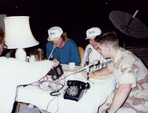 Throwback Thursday – 30 Years Ago Today We Went to Saudi Arabia to do a Radio Show