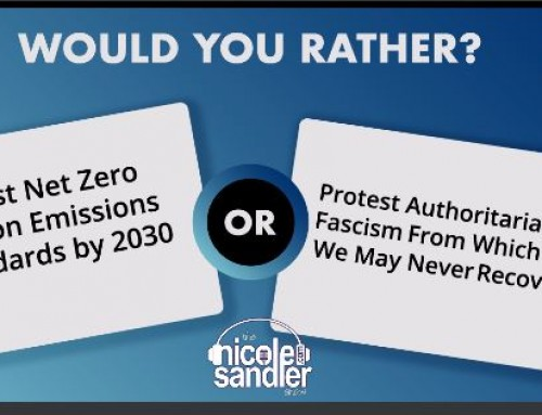 8-14-20 Nicole Sandler Show – A Progressive Call to Action with Norman Solomon