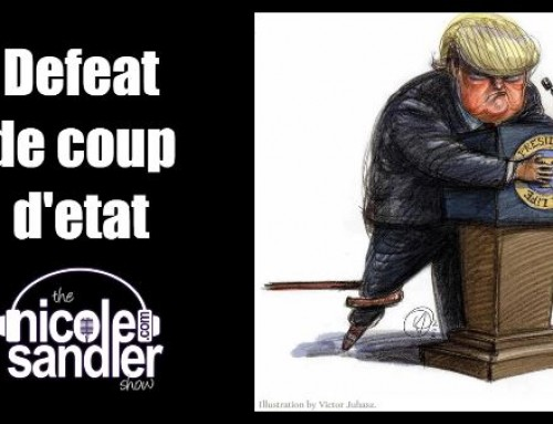 9-11-20 Nicole Sandler Show – Defeating the Coming D Trump Coup d'Etat