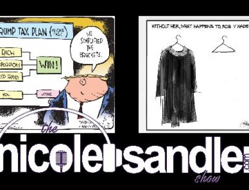 9-28-20 Nicole Sandler Show – SCOTUS, POTUS, IRS, OMG, WTF with Elie Mystal & Barry W. Lynn