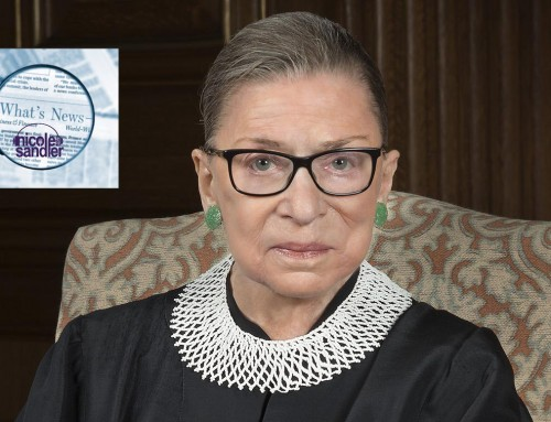 9-21-20 What's News – The RIP Ruth Bader Ginsburg Edition