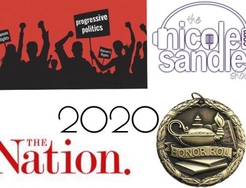 1-15-21 Nicole Sandler Show – 2020's Progressive Honor Roll and More w John Nichols