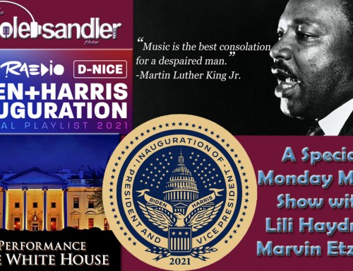 1-18-21 Nicole Sandler Show – It's MLK Day and Music's Returning to the White House