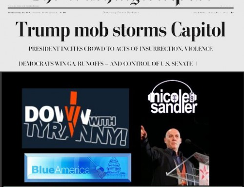 1-7-21 Nicole Sandler Show – Insurrection Aftermath Thursday with Howie Klein