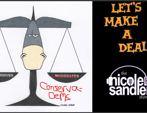 9-23-21 Nicole Sandler Show – Democratic Party Clusterf*^ck