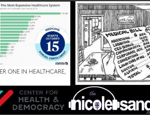 10-15-21 Nicole Sandler Show – It's Open Enrollment Time Again with Wendell Potter