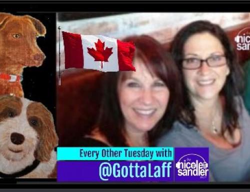 10-19-21 Nicole Sandler Show – @GottaLaff's Back From Canada, Eh?
