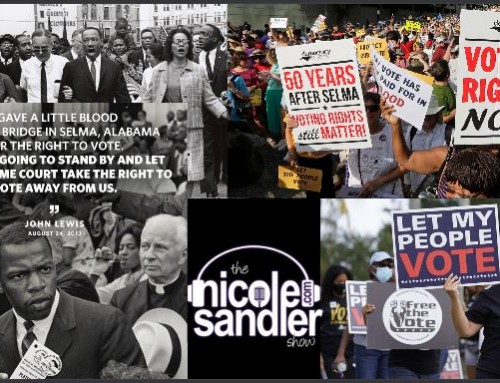 10-25-21  Nicole Sandler Show – Voting Rights Fight Redux 2021 with Jenny Cohn